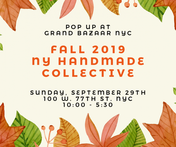 NY Handmade Collective Pop-up – Fall